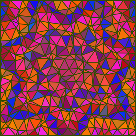 grid background: Abstract triangular floral grid background