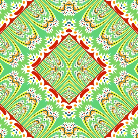 kaleidoscopic: Abstract regular kaleidoscopic decorative tile
