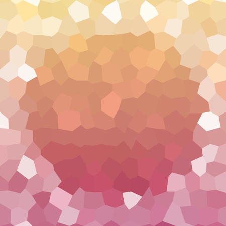 copper background: Abstract low poly geometrical copper background