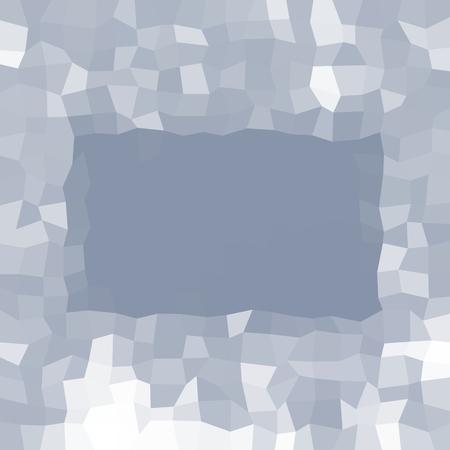 Slate gray angular low poly background