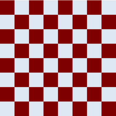 able: Simple red brown silver gray checkerboard