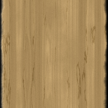 rendered: Digitally rendered texture of wooden board