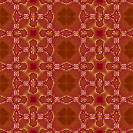 symmetrical: Abstract red symmetrical pattern
