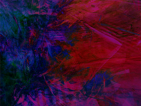 Abstract colorful rectangular background with fractal pattern Stock Photo