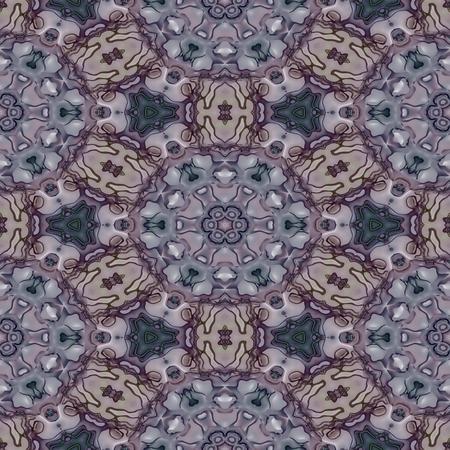 Soft violet floral wallpaper
