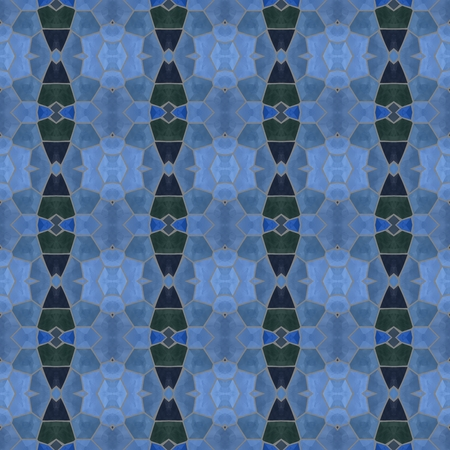 ornamentations: Blue decorative mosaic pattern