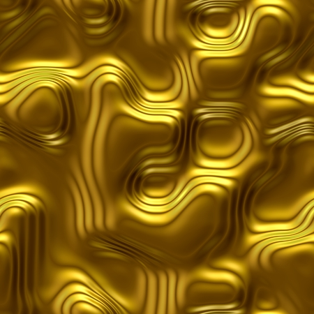 Seamless, yellow, background, glossy, gold, brass, metal, surface