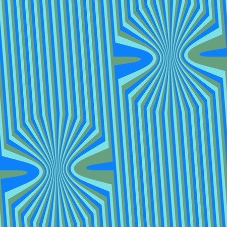 Abstract seamless simple geometric cubist pattern