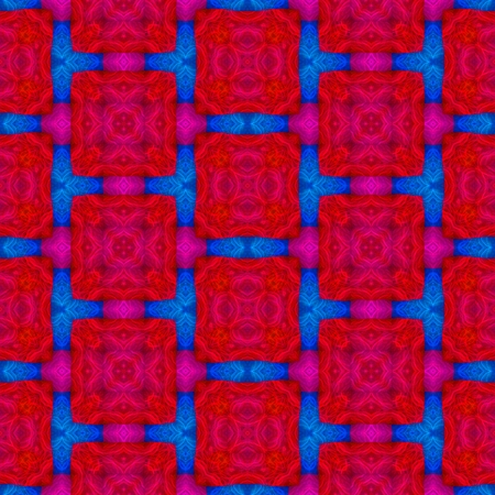 Abstract seamless colorful kaleidoscopic pattern