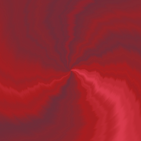 Red spiral pattern - digitally rendered background Stock Photo