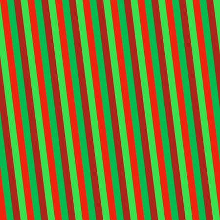 Red green striped seamless oblique pattern