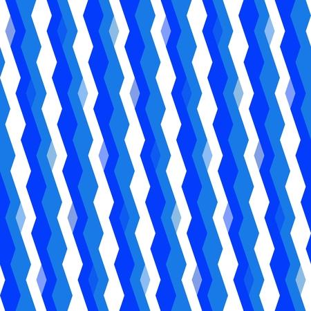 Blue white wavy geometric pattern