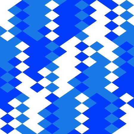 Blue white geometric pattern Stock Photo - 96966426