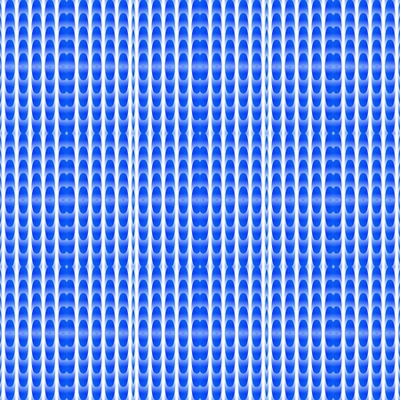 Abstract blue ornamental striped tile