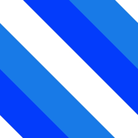 Blue white diagonally striped pattern