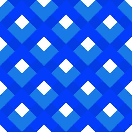 Blue white checkered seamless design