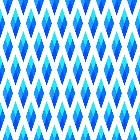 Blue white rhombic decor with oblique stripes Stockfoto - 96966431