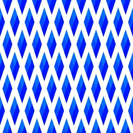 Blue white geometric pattern Stock Photo - 96960322