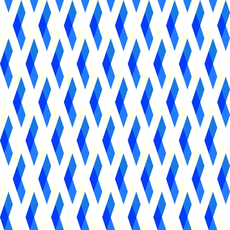 Blue white geometric diamond pattern