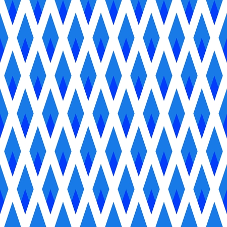 Blue white geometric rendered pattern Stock Photo - 96953015