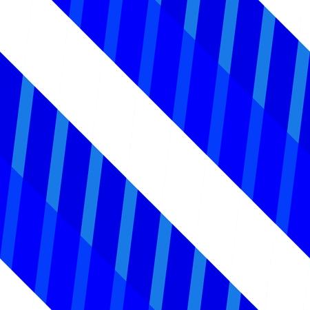 Blue white striped geometric pattern