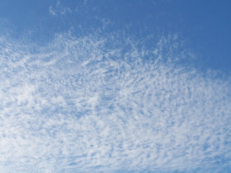 White cloud on blue sky - usable for background