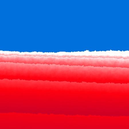 Red white blue splash background Stock Photo