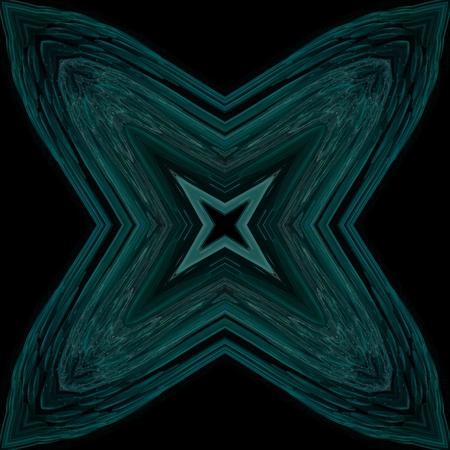 Abstract seamless fractal ornamental tile