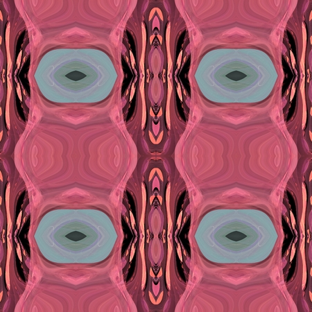 Red gray abstract fractal ornamental geometric pattern