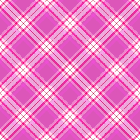 Red white pink diagonally checkered pattern