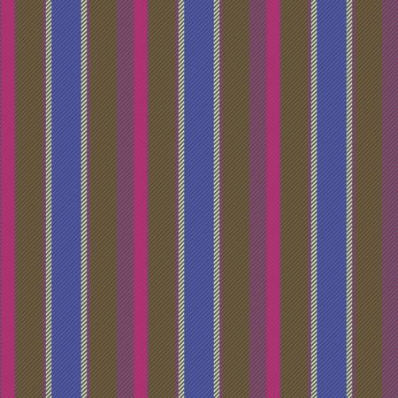 Pink brown blue purple gray pattern imitating striped cloth - digitally rendered geometric seamless design Stock Photo