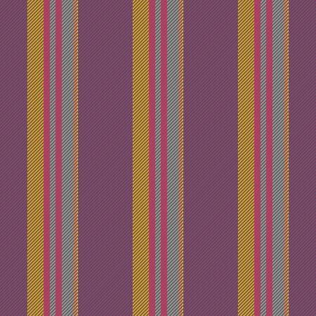 Gray yellow red purple striped seamless pattern Stock Photo