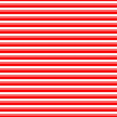 Playful striped red white seamless pattern