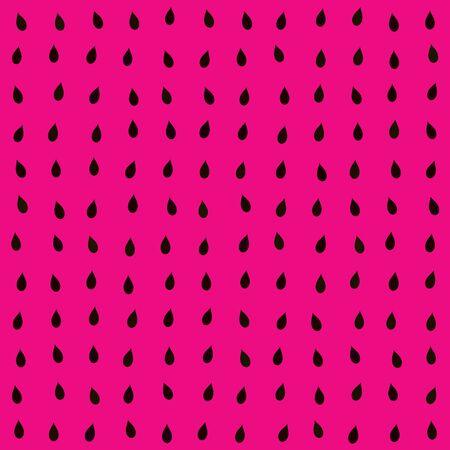 Red seamless watermelon texture digitally rendered pattern