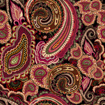 Paisley pattern vector.