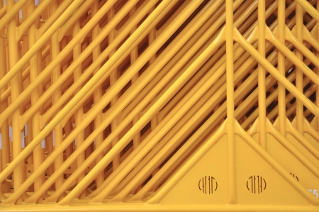 yaw: Yellow iron palisade