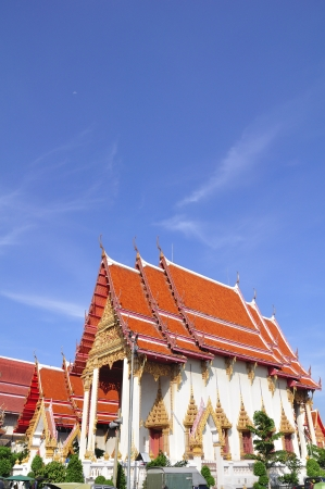 Temple in Bangkok photo