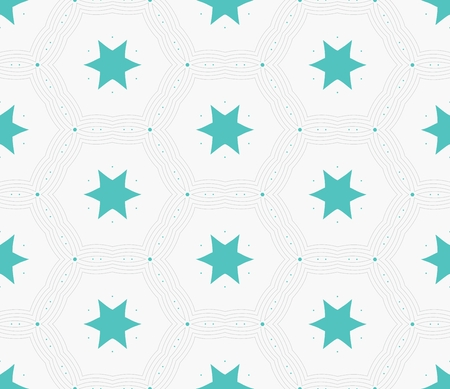 delicate: Vector seamless pattern. Modern stylish texture. Delicate geometric tiles