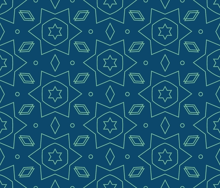 centric: Vector seamless pattern. Modern stylish texture. Repeating geometric tiles Illustration