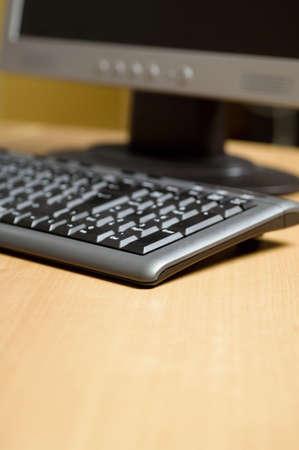 Computadora de escritorio  Foto de archivo - 3192962
