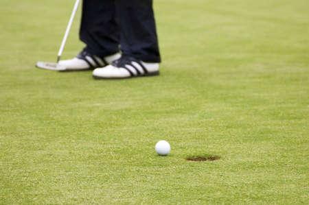 Man playing golf Stock Photo - 3192998