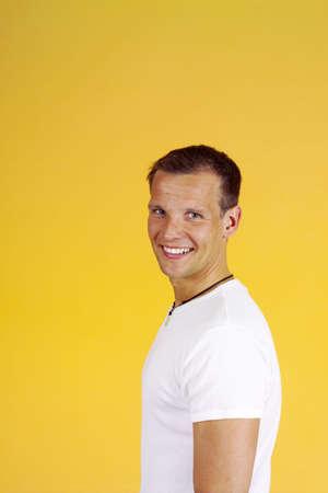 Man smiling at the camera Stock Photo - 3193192