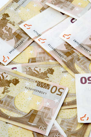 Fifty Euro banknotes Stock Photo - 3193198