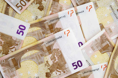 Fifty Euro banknotes Stock Photo - 3193203