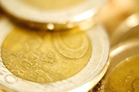 Two Euro coins Stock Photo - 3193248