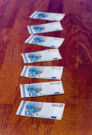 Twenty Euro banknotes Stock Photo - 3193264