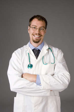 Portrait of a doctor Stock Photo - 3193580