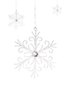 christmas decorations: Christmas snowflakes