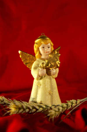 Christmas angel ornament Stock Photo - 3193612