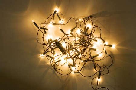 Christmas tree lights Stock Photo - 3193614